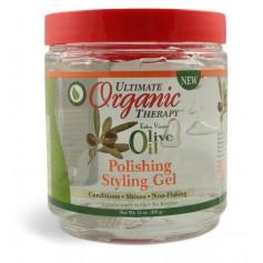 Gel coiffant à l'Huile d'Olive 426g (Polishing)
