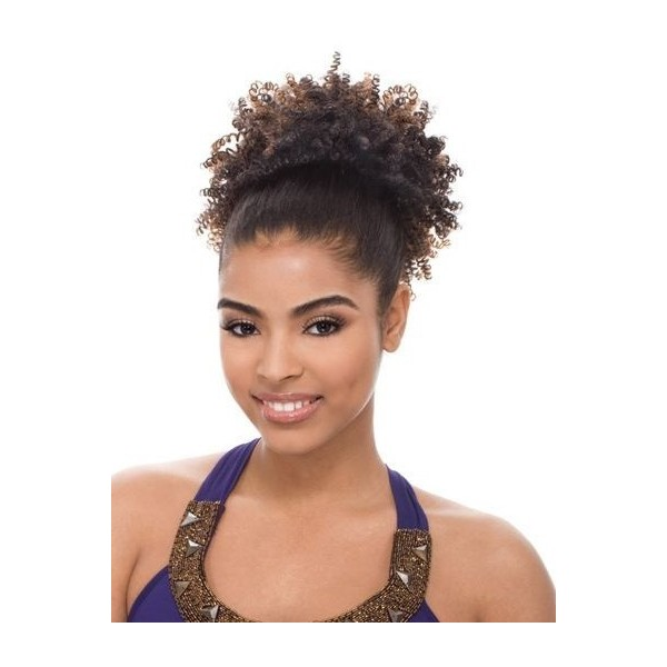 JANET postiche AFRO PERM STRING