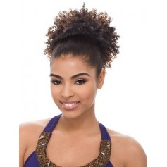 JANET hairpiece AFRO PERM STRING