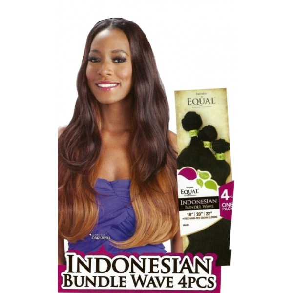 EQUAL tissage Invisible INDONESIAN 4 PCS
