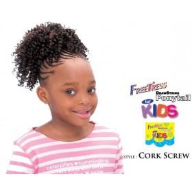 """Freetress postiche enfants """"CORK SCREW"""""""