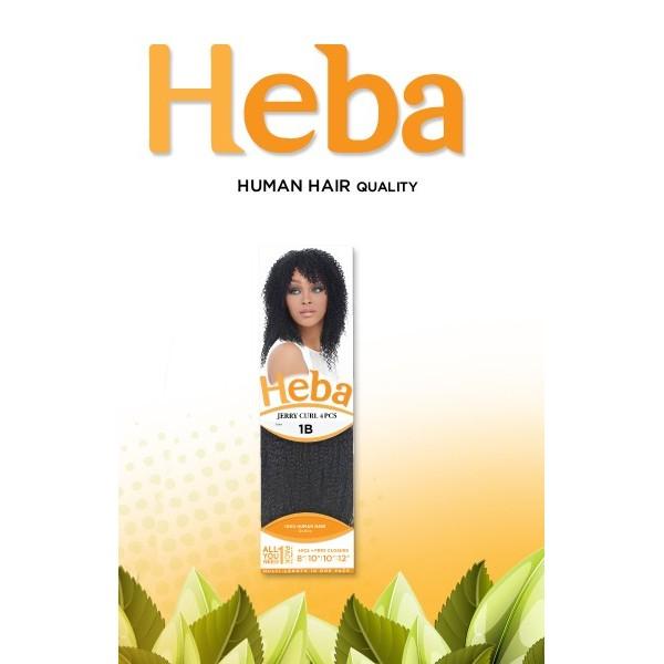 HARLEM tissage JERRY CURL 4PCS (Heba)