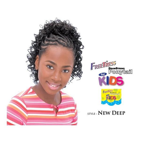 """Freetress children's hairpiece """"NEW DEEP"""""""