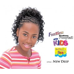 "Freetress postiche enfants ""NEW DEEP"""