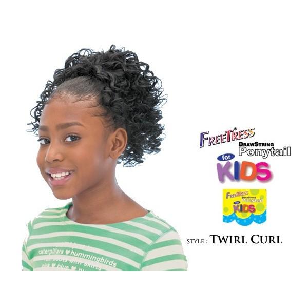 "Freetress postiche enfants ""TWIRL CURL"""