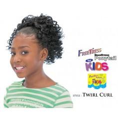 """Freetress children's hairpiece """"TWIRL CURL"""""""
