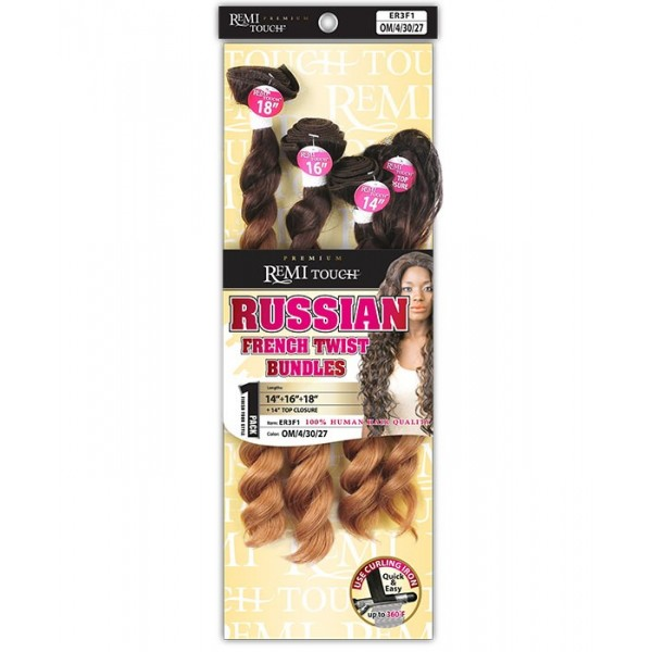 New Born tissage RUSSIAN FRENCH TWIST (Remi Touch)