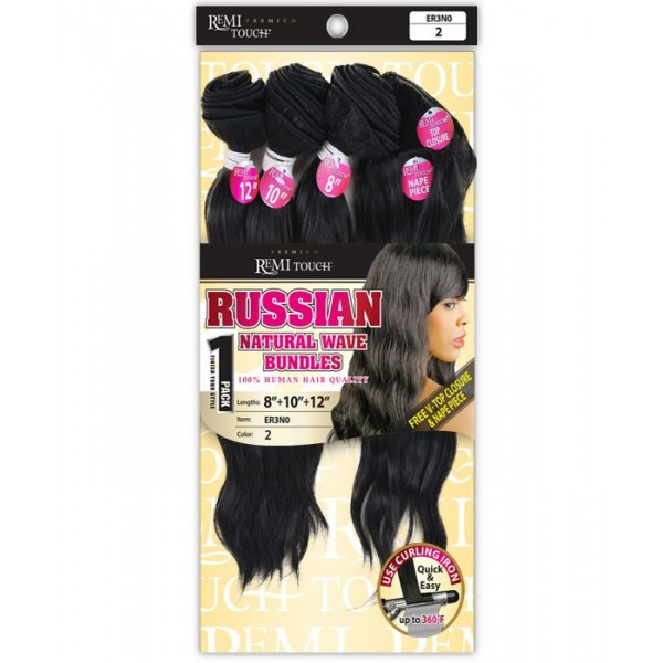 New Born tissage RUSSIAN NATURAL (Remi Touch)