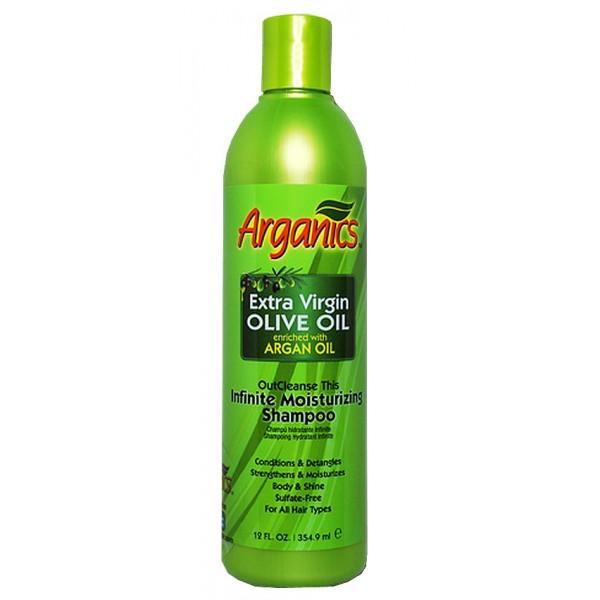 Shampooing hydratant Infinite olive et argan 354,9ml