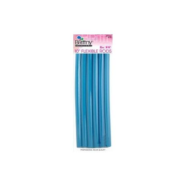 """Bigoudis Flexi Rods 10"""" Blue 14mm (x6)"""
