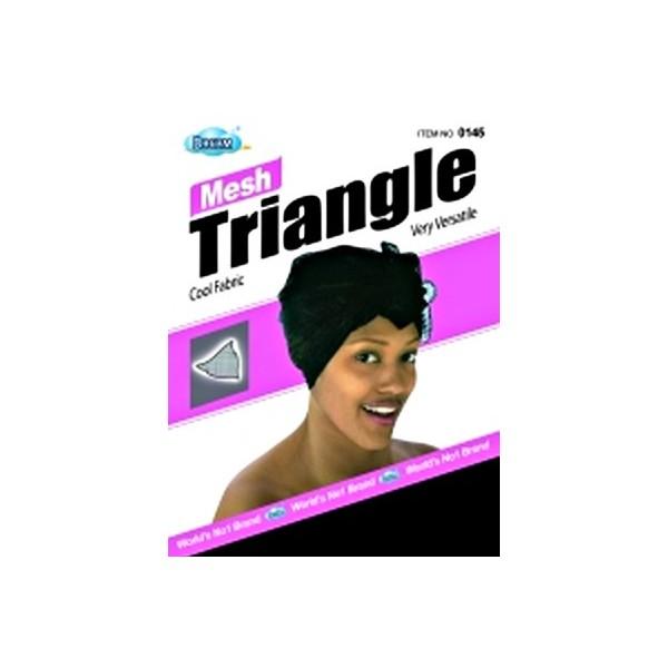Bonnet bandana triangle DRE145 (Mesh Wrap)