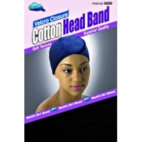 Bonnet velcro coton DRE209B (Foam Mesh Wrap)