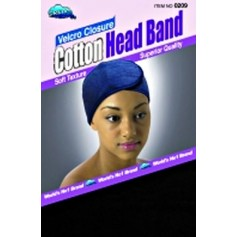 Bonnet velcro coton DRE209B (Cotton Head Band)