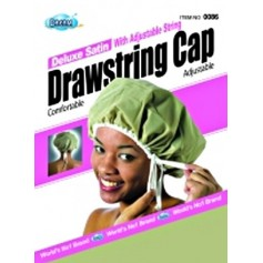 Bonnet satin ajustable DRE086 (Drawstring cap) ***