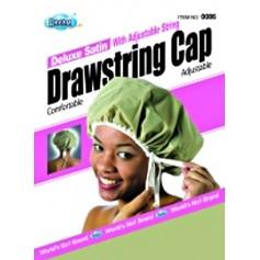 DRE086 Adjustable satin Drawstring cap