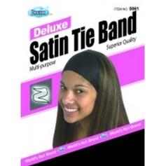 Satin Tie Band Beanie DRE061