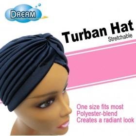 Stretch turban cap DRE106B (Hat)