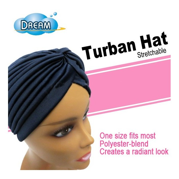 Bonnet turban étirable DRE106B (Hat)