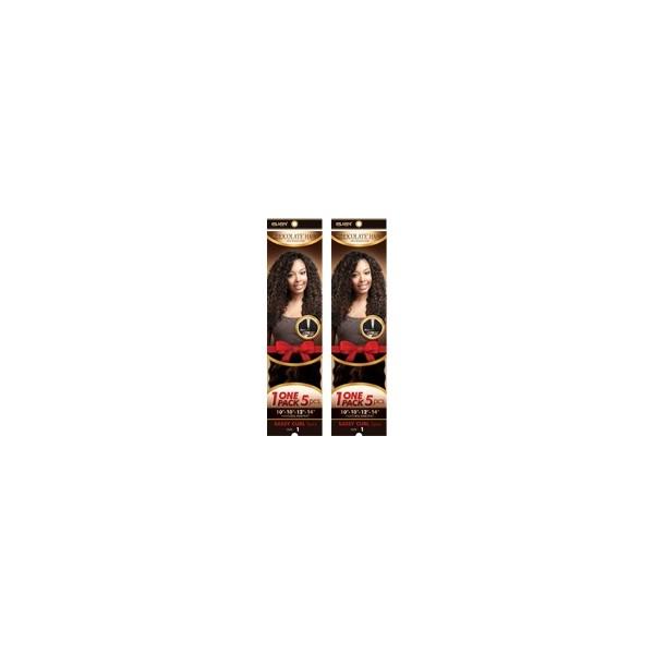 CHOCOLATE tissage SASSY CURL