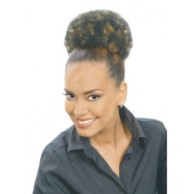 Janet hairpiece AFRO PUFF String