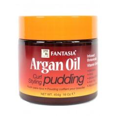 Crème pudding Argan pour boucles 454g (Curl styling)