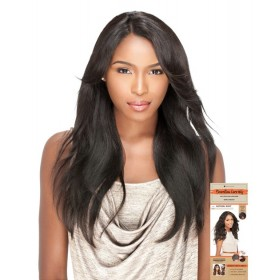 SENSAS perruque STRAIGHT (BRAZILIAN L Part Lace)