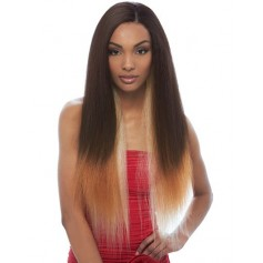 NOIR tissage KERATIN PERM YAKI FRENCH 6 PCS (Natural Peruvian)