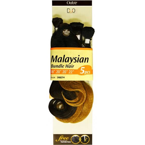 OUTRE tissage DUO MALAYSIAN BUNDLE 5 pcs (Batik)