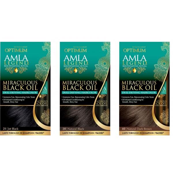 Dark & Lovely Coloration sans amoniac AMLA (Miraculous Black Oil)