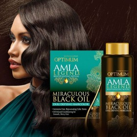 Dark & Lovely Coloration sans amoniac AMLA (Miraculous Black Oil)