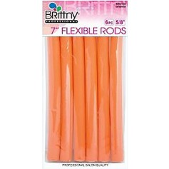 "Bigoudis Flexi Rods 7"" Orange 15mm (x6) BR67553"