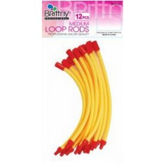 Bigoudis Loop Rods Medium (x12) BR52067