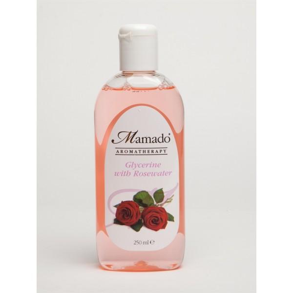 Mamado Glycérine végétale pure à la rose 250ml