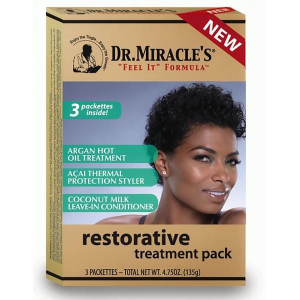 Dr Miracle's Traitement capillaire Restorative 3 étapes