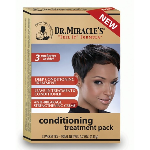 Dr Miracle's Traitement capillaire Conditioning x3 soins