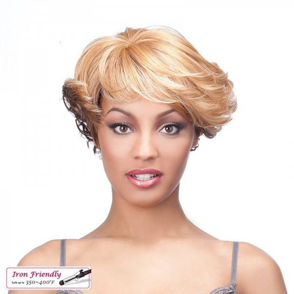 IT'S A WIG perruque ORANGE (Simply Lace)