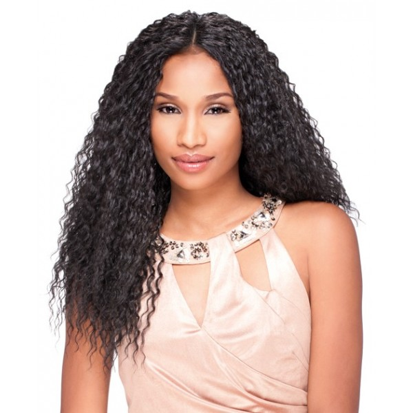 SENSATIONEL perruque WET CURLY (Custom Lace Front)