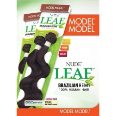 MODEL tissage brésilien NUDE LEAF NATURAL BODY WAVE *
