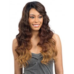MODEL perruque PERUVIAN NATURAL WAVE (Diagonal Lace) *