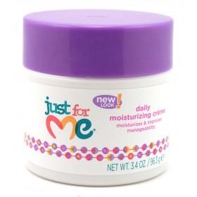 Just for me Soin coiffant pour enfants (daily moisture creme) 96.3g * nouveau packaging