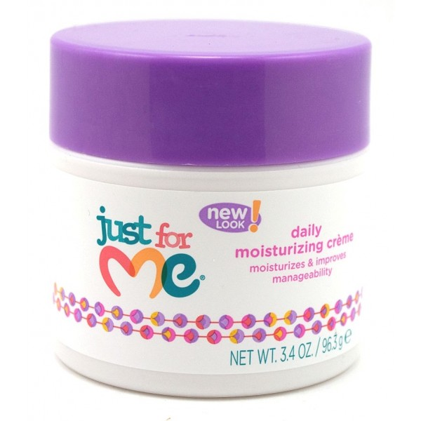 Just for me Soin coiffant pour enfants (daily moisture creme) 96.3g * nouveau packaging