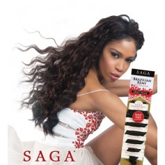 SAGA tissage Brazilian Remy DEEP WAVE *