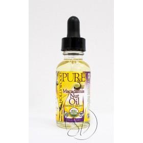 Hollywood Beauty pure organic macadamia nut oil 29.5 ml (macadamia)