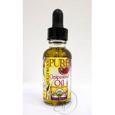 Huile organique pure pépins de Raisin 29,5 ml (Grapeseed)