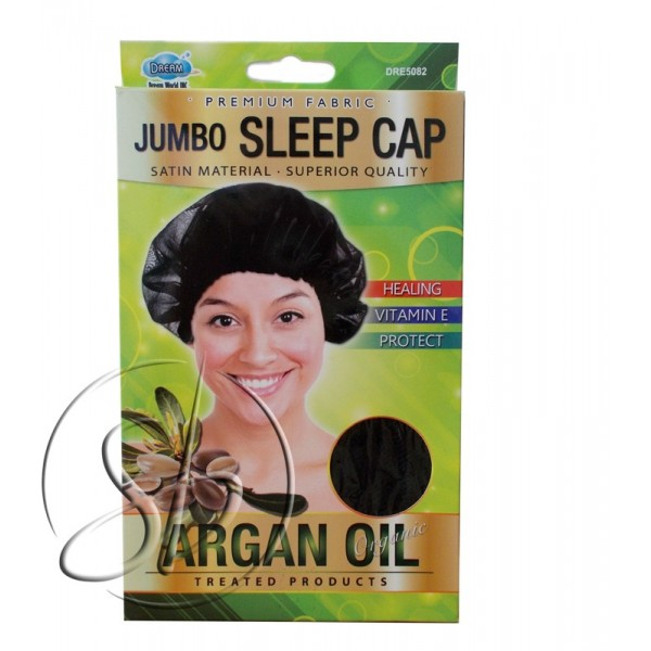 "DREAM Bonnet nuit large à l'ARGAN ""Jumbo sleep"" DRE5082"