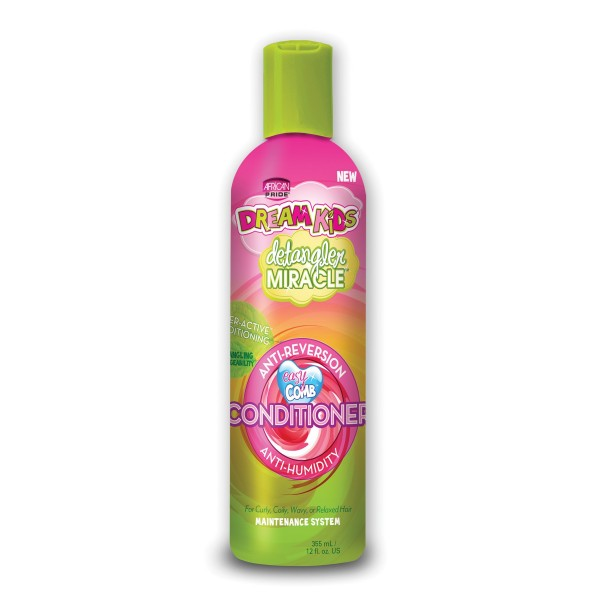 dream kids Après-shampoing lissant anti-reversion 355ml (Naturally straight)