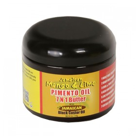 Jamaican Mango & Lime Beurre 7 en 1 huile de Piment & Ricin 118ml (Butter)