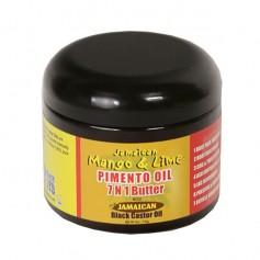 Beurre capillaire 7 en 1 Piment & Ricin 118ml (Butter)