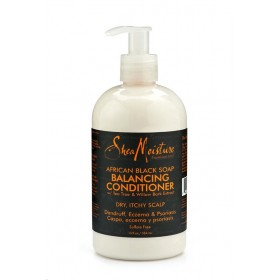 "Shea Moisture Après-shampooing African Black Soap ""Balancing"" 384ml"