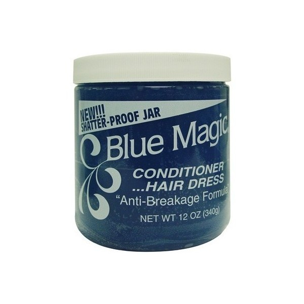 Brillantine bleue Hair Dress 340g